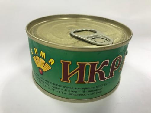 Красная икра ГОРБУШИ ж/б 140г.
