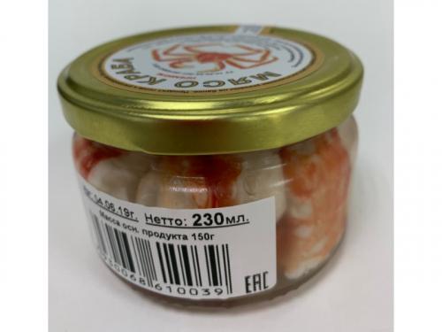 Мясо краба ст/б 230г. Высший сорт.