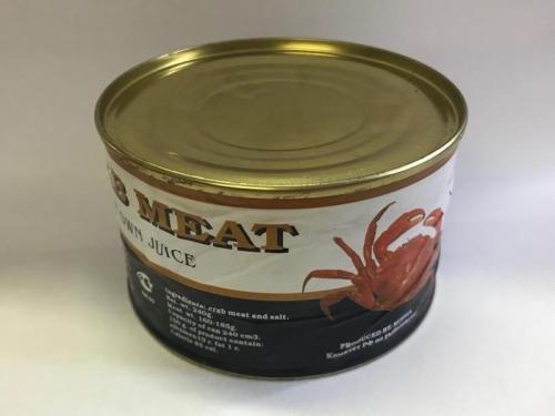 Мясо краба в/с, ж/б 240г.