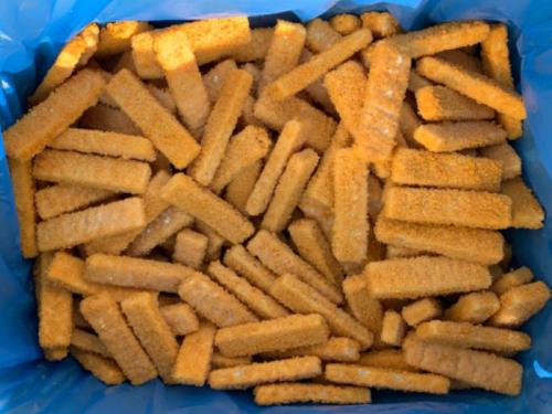 Рыбные палочки из филе минтая в панировке 7кг.
